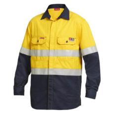 Shieldtec FR Hivis Long Sleeve (FR D+N) Shirt