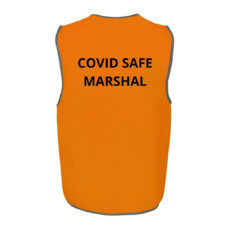 COVID MARSHAL Printing on Back of Tops