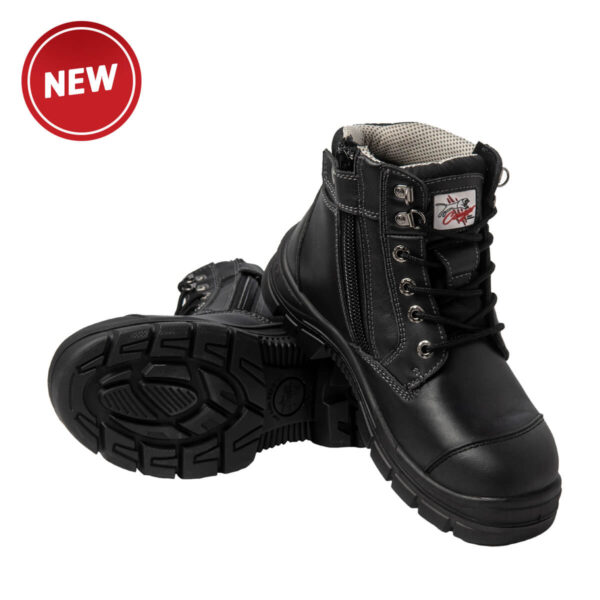 Cougar Detroit Zip side Safety Boot