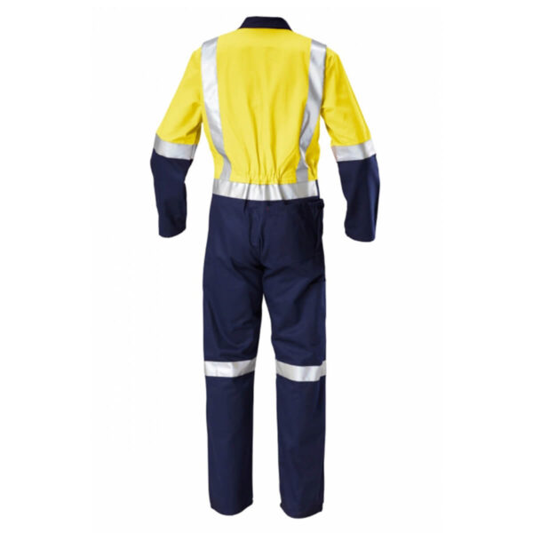 Hard Yakka Hivis Cotton Drill (D+N) Coverall
