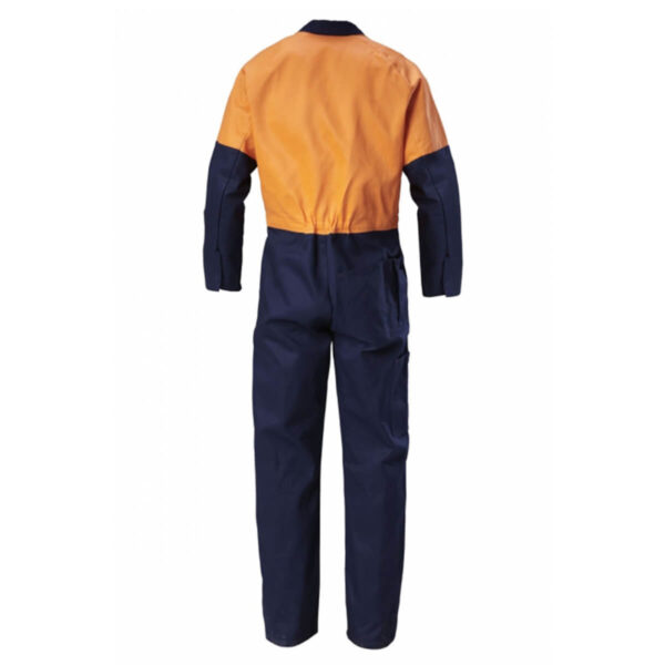 Hard Yakka Hivis Cotton Drill Coverall