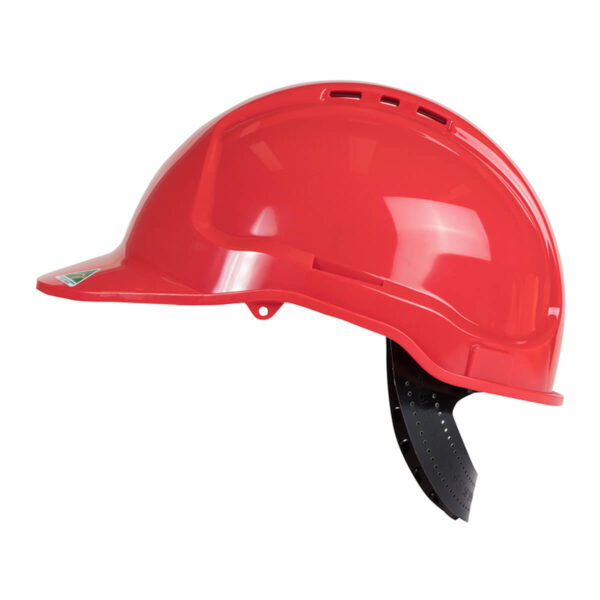 Hard Hat with Pin Lock Harness (Box of 18)