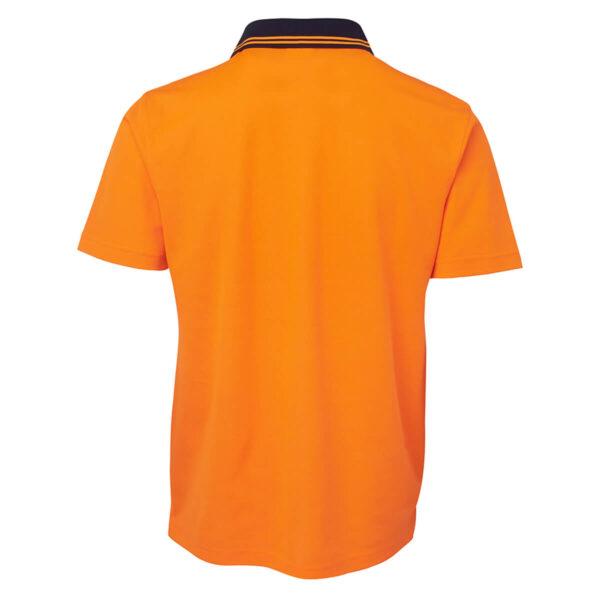 Hivis Cotton Back Short Sleeve Polo