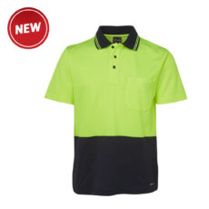 Hivis Cotton Back Short Sleeve Polo