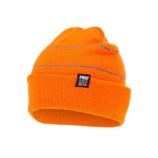 Hivis Beanie with Retro-Reflective Stripes