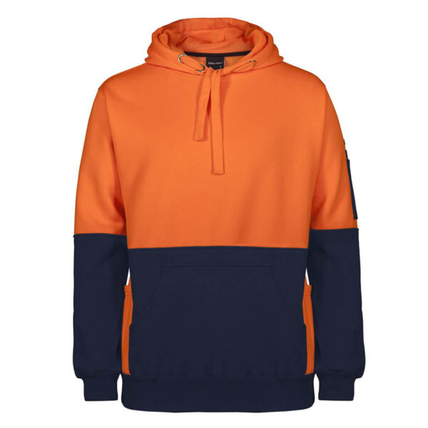 HiVis 330gsm Pull Over Hoodie