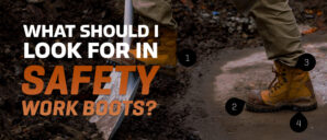 What Should I Look for in Safety Work Boots?
